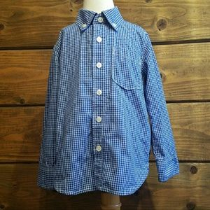 BABY GAP Boys Button Down size 4T
